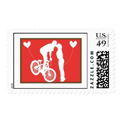 Rojo/Brown de la bici de 20 pares de los sellos