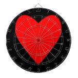 rojo caluroso heart.png tablero dardos
