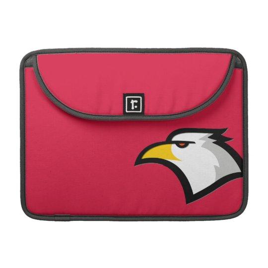Rojo carmesí Eagle calvo Funda Macbook Pro