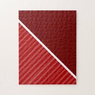Rojo carmesí y cardinal rompecabezas
