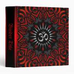 Rojo+Carpeta tribal negra del álbum de Aum OM