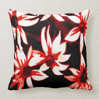Rojo castaño cojín decorativo
