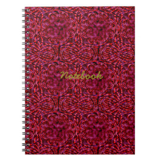 Rojo cereza libretas