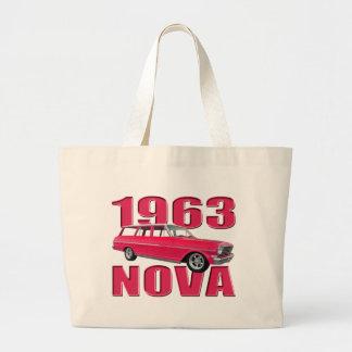 rojo chevy del carro de la Nova 1963 II Bolsa