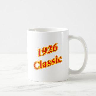 Rojo clásico 1926 tazas