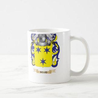 Rojo Coat of Arms (Family Crest) Coffee Mug