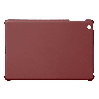 Rojo con el iPad de la frontera del brillo del oro