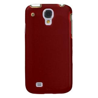 Rojo con la frontera iPhone3G del brillo del oro