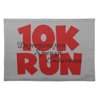 rojo corrido 10K Manteles