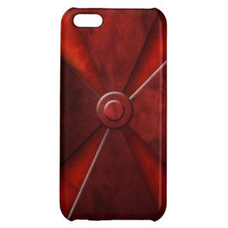 Rojo cruzado del hierro