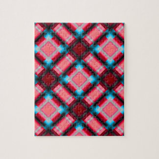 rojo cuadrado del serie 1 del modelo puzzles con fotos