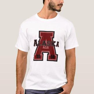 """Rojo de Alaska """"A"""" Playera"""