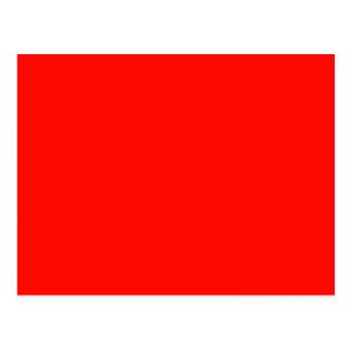 Rojo de Apple de caramelo Postal