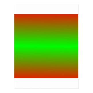 Rojo de Apple de caramelo y pendiente horizontales Tarjeta Postal