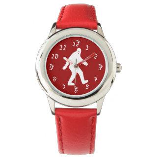 Rojo de Bigfoot Reloj