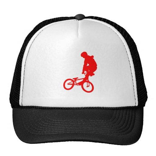Rojo de BMX Gorra
