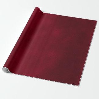 Rojo de Borgoña de la mancha Papel De Regalo