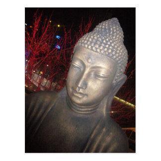 rojo de Buda Tarjetas Postales