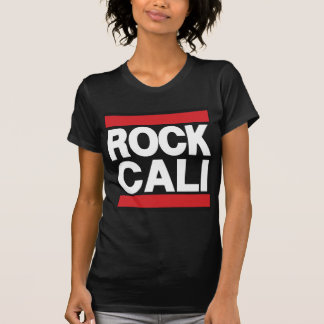 Rojo de Cali de la roca Camisetas