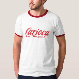 Rojo de Carioca Playera
