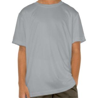 Rojo de Civishi #32, pájaro corriente abstracto T Shirt