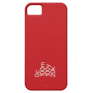 Rojo de CMYK iPhone 5 Fundas