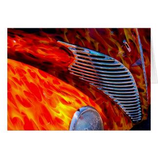 Rojo de cromo clásico de la pintura de la llama de