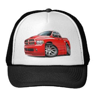 Rojo de Dualcab del espolón de Dodge SRT10 Gorra