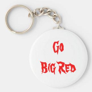 Rojo de GoBig Llavero Personalizado