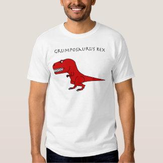 Rojo de Grumposaurus Rex Playera