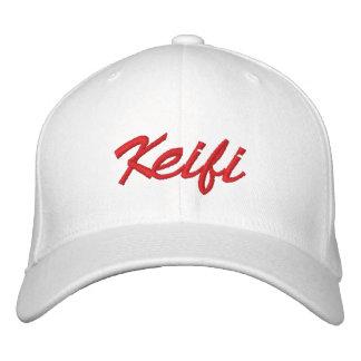 Rojo de Keifi Gorras Bordadas