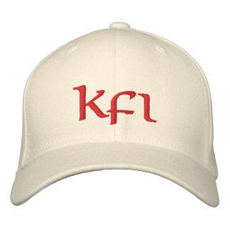 Rojo de Keifi Kfi Gorra De Beisbol Bordada