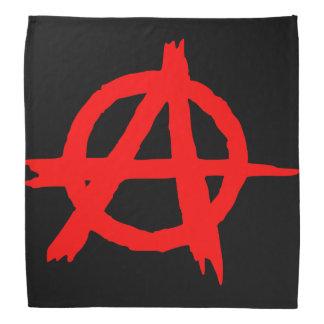 Rojo de la anarquía bandana
