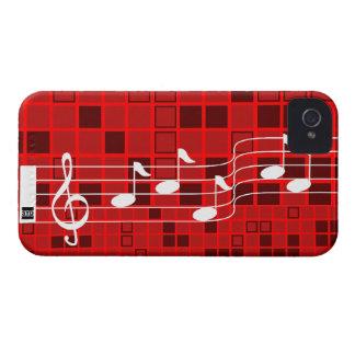 Rojo de la caja de la casamata del iPhone 4 del mo iPhone 4 Funda
