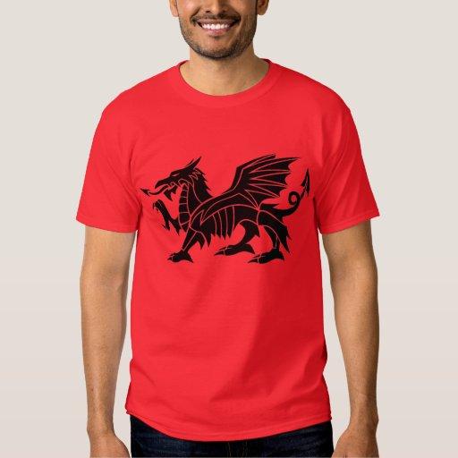 Rojo de la camiseta de MECHADDRAIG Playeras