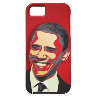 Rojo de la elección presidencial de Obama iPhone 5 Carcasas