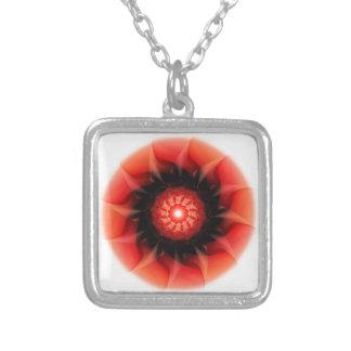 Rojo de la energía diseñado por Tutti Pendientes Personalizados