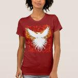 Rojo de la estrella de Phoenix Camisetas