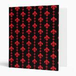Rojo de la flor de lis 3