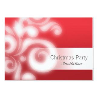 Rojo de la invitación del fiesta con el texto
