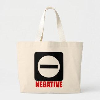 Rojo de la negativa 1 bolsas