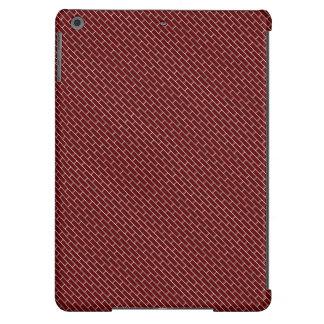 ~ rojo de la pared de ladrillo funda para iPad air