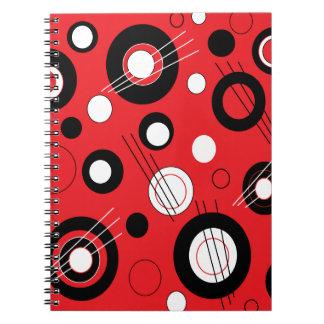 Rojo de la polca libros de apuntes