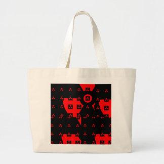 rojo de la radiación bolsa