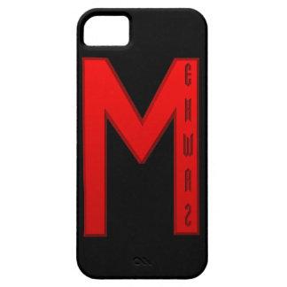 Rojo de la runa de Ehwaz Funda Para iPhone SE/5/5s
