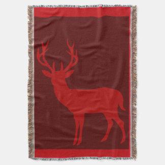 Rojo de la silueta el   Borgoña del macho de los Manta
