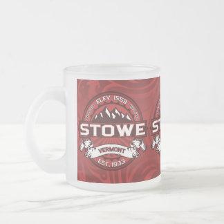 Rojo de la taza de Stowe