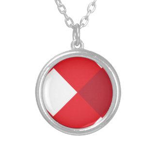 Rojo de la tela escocesa 1 grimpola