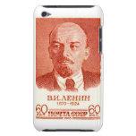 Rojo de Lenin iPod Case-Mate Cárcasas