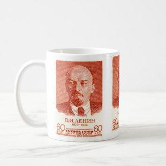 Rojo de Lenin Tazas